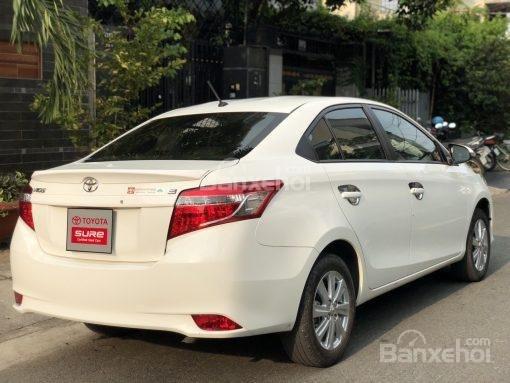 Bán xe Toyota Vios 1.5G AT đời 2017, màu trắng (4)