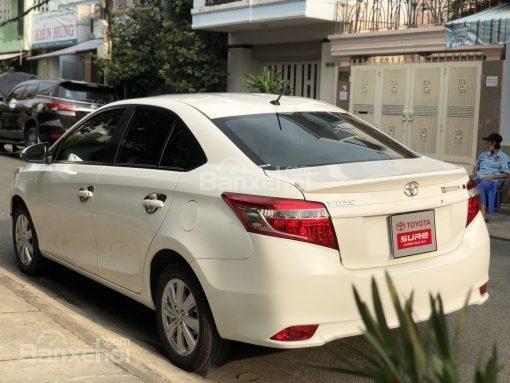 Bán xe Toyota Vios 1.5G AT đời 2017, màu trắng (5)