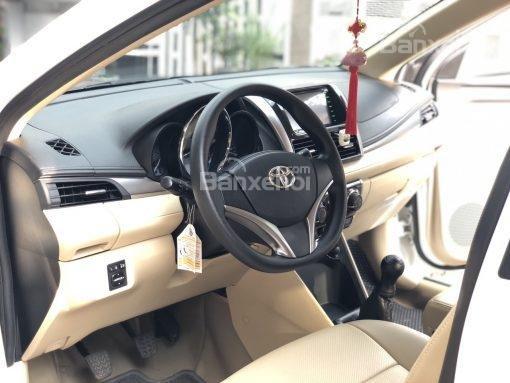 Bán xe Toyota Vios 1.5G AT đời 2017, màu trắng (11)