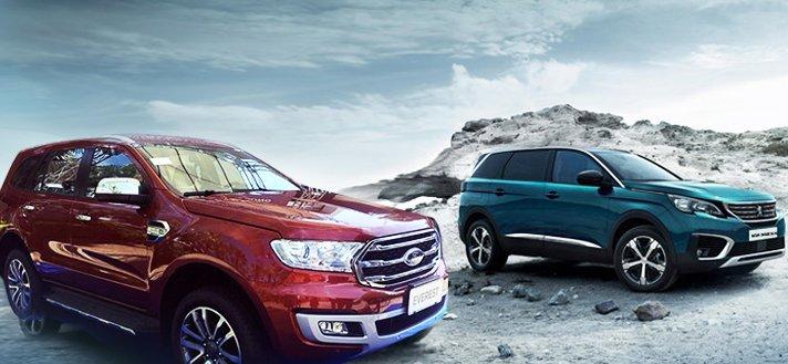 So sánh xe Peugeot 5008 2019 và Ford Everest 2019: Cùng giá 1,4 tỷ chọn SUV nào cho phải?.