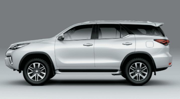 So sánh xe Toyota Fortuner 2019 và VinFast LUX SA2.0 2019 về thân và đuôi xe.
