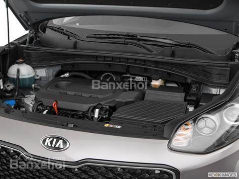 Đánh giá xe Kia Sportage 2019 bản Mỹ - động cơ - 1a
