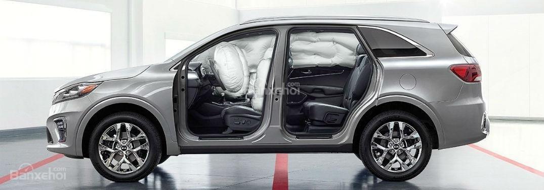 Đánh giá xe Kia Sedona 2019 - An toàn- 1b