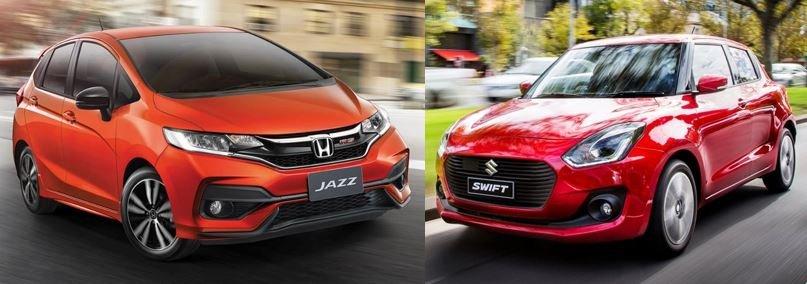 So sánh Suzuki Swift 2019 và Honda Jazz 2019 về tiện nghi 5...
