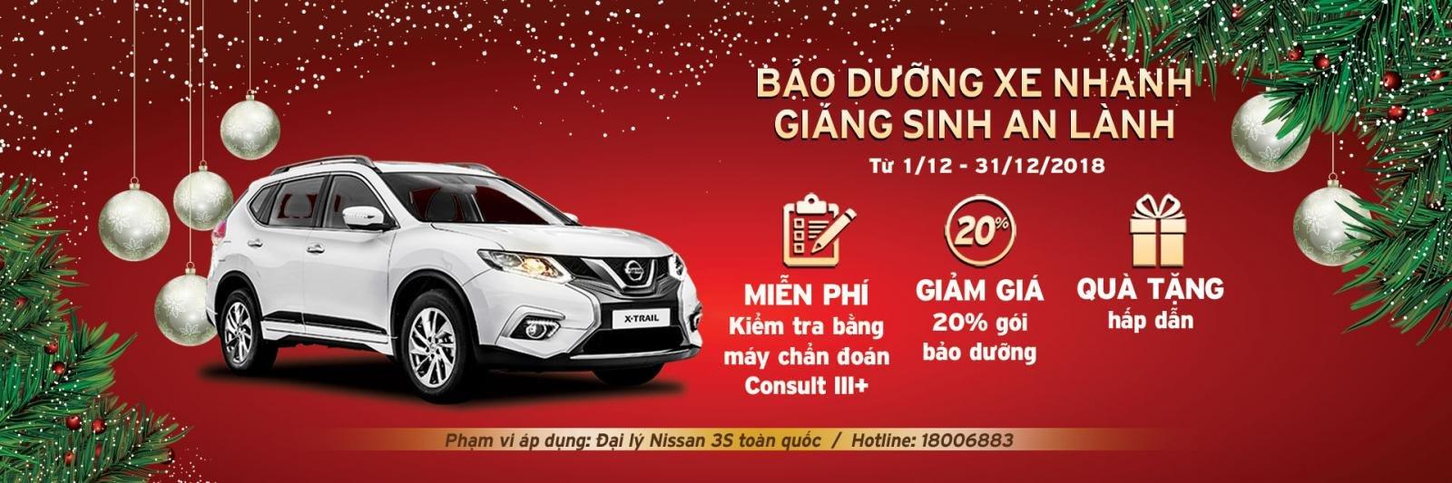 Nissan triển khai chương trình khuyến mại bảo dưỡng xe cho khách Việt a1