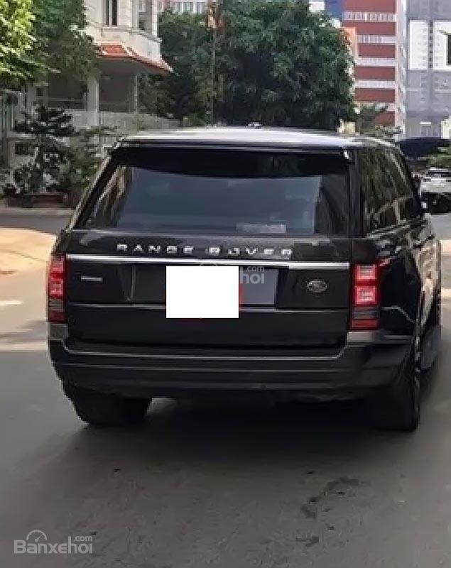 Bán LandRover Range Rover sản xuất năm 2015, màu đen, nhập khẩu nguyên chiếc-1