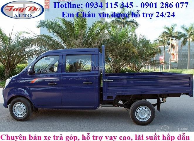 Xe tải Cabin đôi, 5 chỗ ngồi Trường Giang T3, giá tận xưởng, xe sẵn ở công ty Tây Đô Kiên Giang (3)