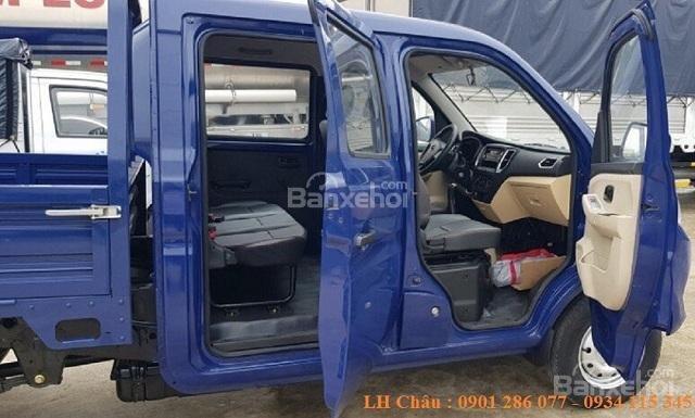 Xe tải Cabin đôi, 5 chỗ ngồi Trường Giang T3, giá tận xưởng, xe sẵn ở công ty Tây Đô Kiên Giang (4)