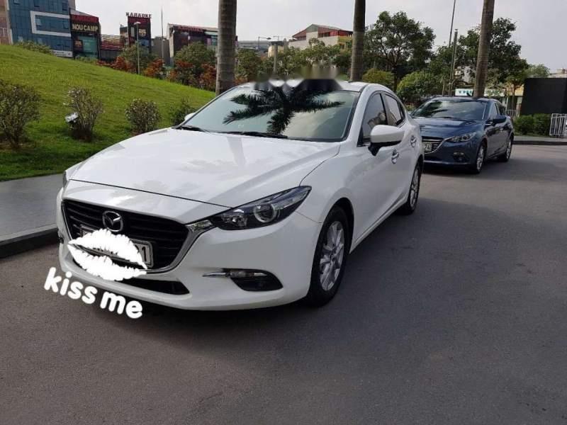 Bán xe Mazda 3 FL đời 2017, màu trắng số tự động (2)