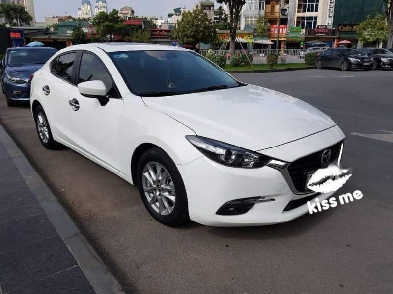 Bán xe Mazda 3 FL đời 2017, màu trắng số tự động (1)