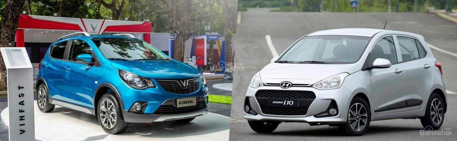 VinFast Fadil cao cấp và Hyundai Grand i10 1.2 AT về vận hành