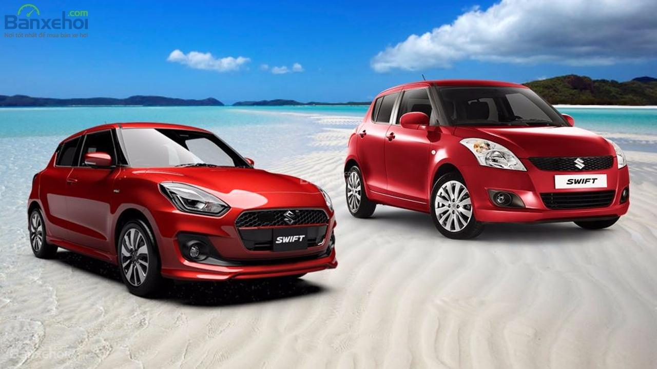 """Suzuki Swift thế hệ mới hơn """"người tiền nhiệm"""" ở những điểm nào? 1..."""