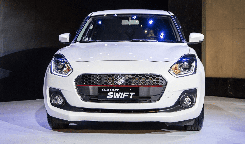 Ảnh chụp đầu xe Suzuki Swift 2019-2020 từ trước