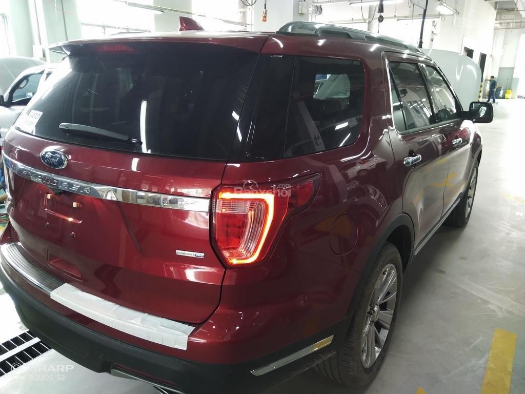 Bán Ford Explorer Limited đỏ, đen, lăn bánh giao ngay, ưu đãi chính hãng-10