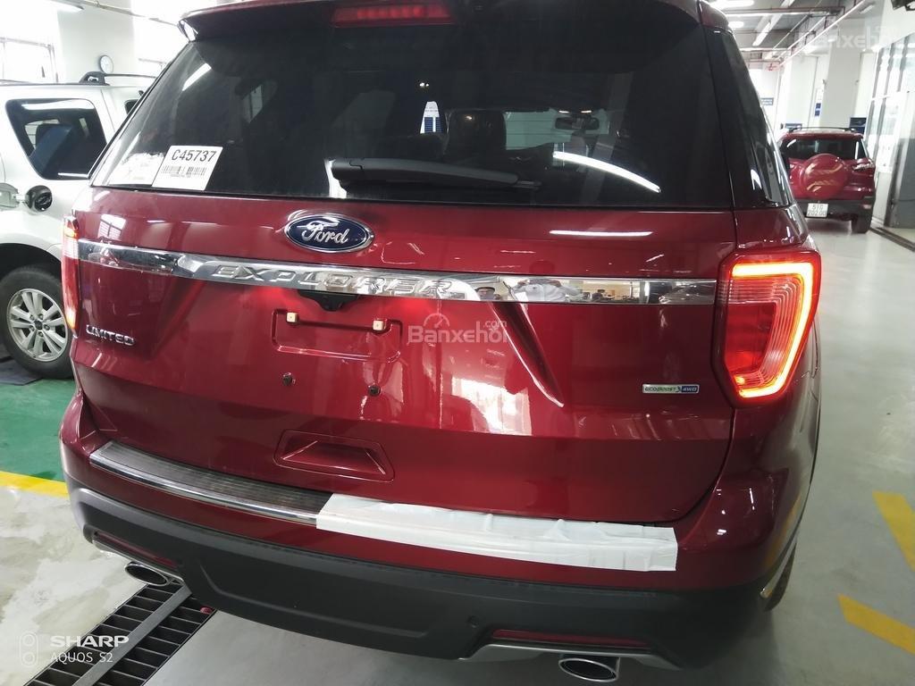 Bán Ford Explorer Limited đỏ, đen, lăn bánh giao ngay, ưu đãi chính hãng-9