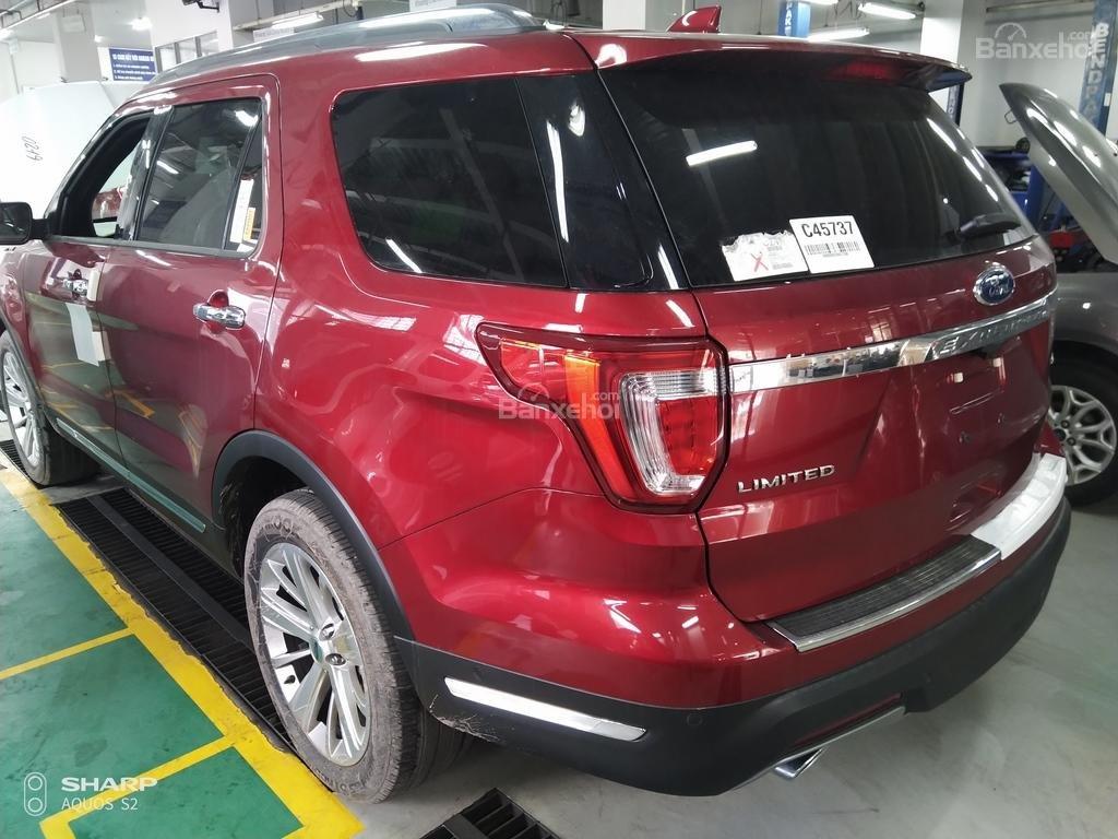 Bán Ford Explorer Limited đỏ, đen, lăn bánh giao ngay, ưu đãi chính hãng-11