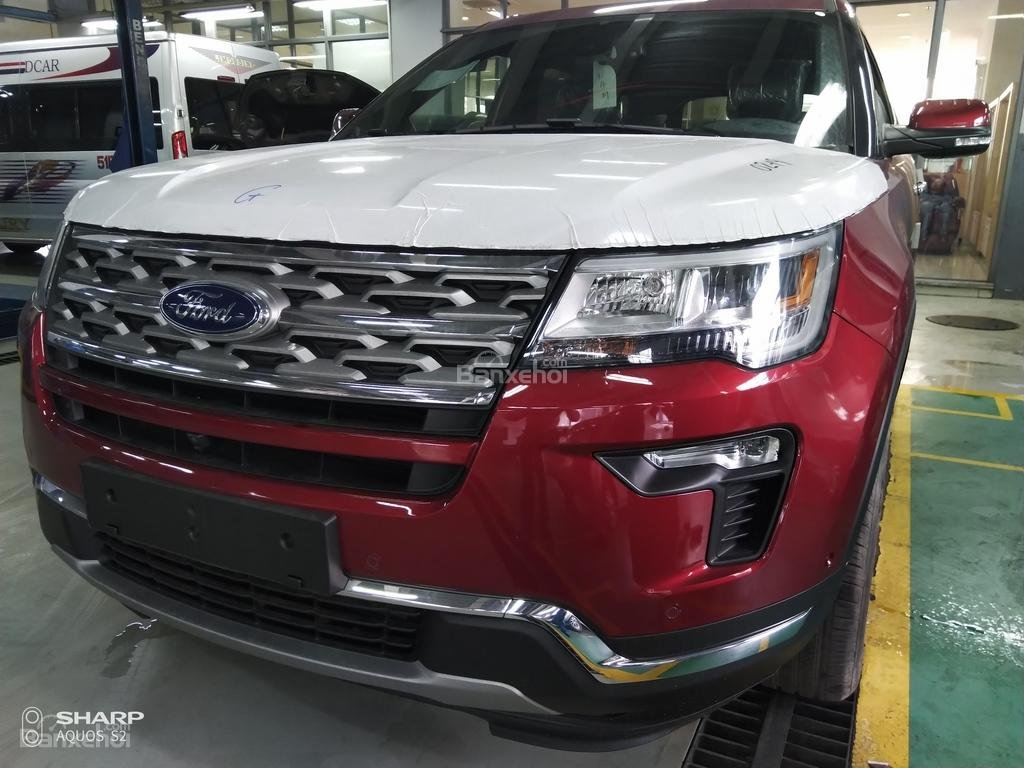 Bán Ford Explorer Limited đỏ, đen, lăn bánh giao ngay, ưu đãi chính hãng-12
