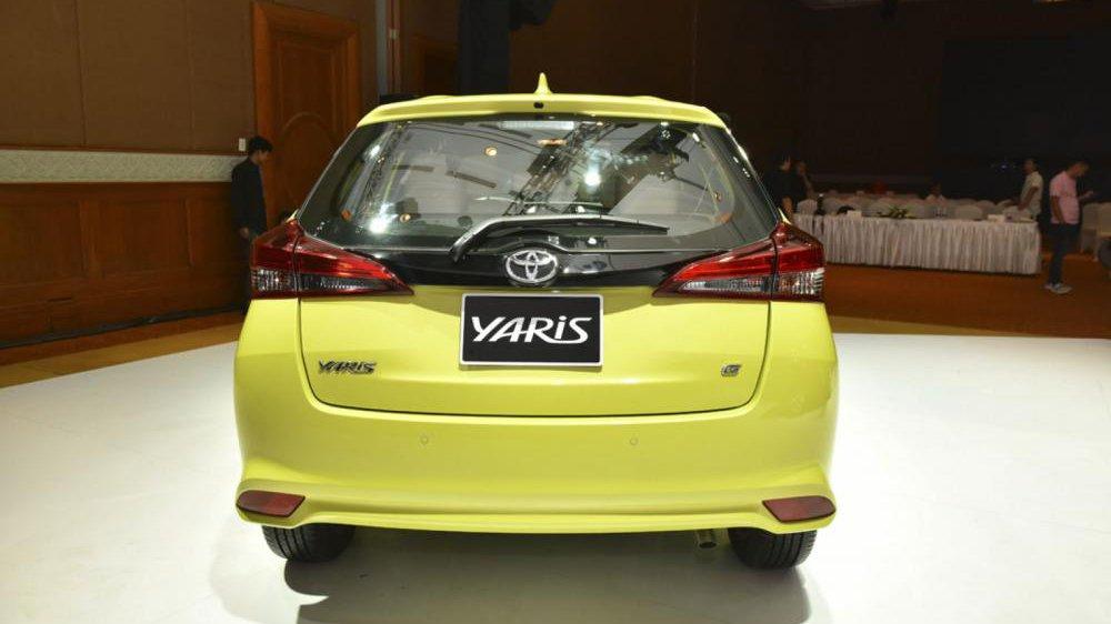 Đuôi xe Toyota Yaris 2019..