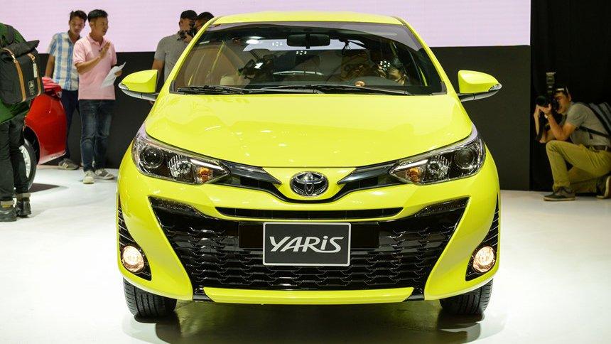 Đầu xe Toyota Yaris 2019 ..