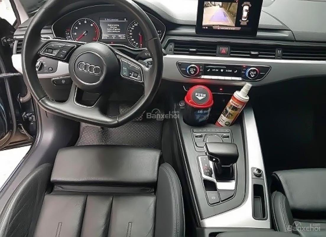Bán Audi A4 2.0 TFSI đời 2016, màu đen, nhập khẩu-3