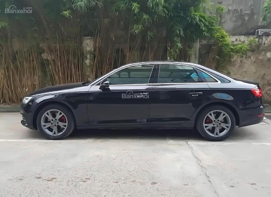 Bán Audi A4 2.0 TFSI đời 2016, màu đen, nhập khẩu-2