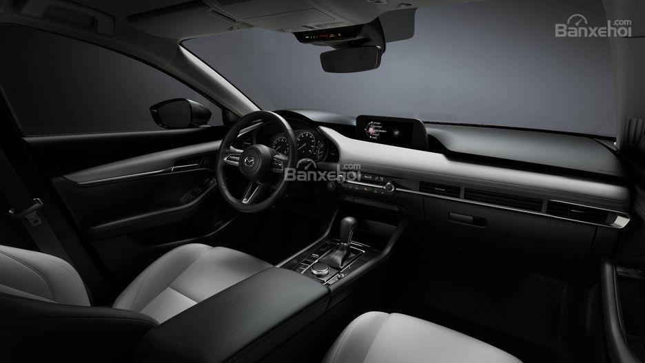 Đánh giá xe Mazda 3 2019: Khoang nội thất.