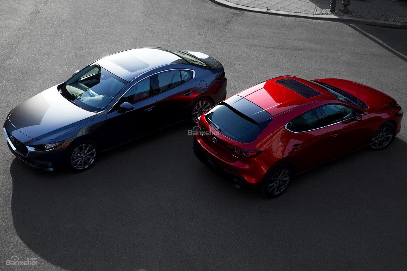 Đánh giá xe Mazda 3 2019 về trang bị an toàn.
