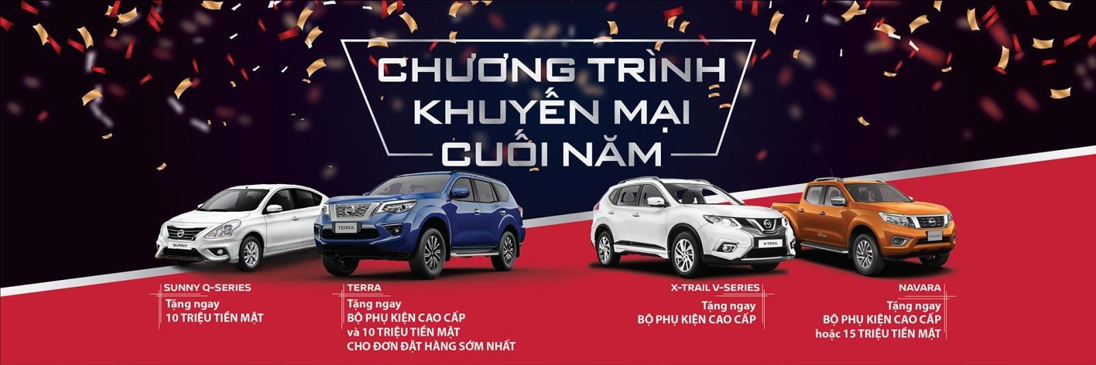 """Khuyến mại tháng 12/2018 của Nissan: """"Tân binh"""" Nissan Terra cũng có quà a1"""