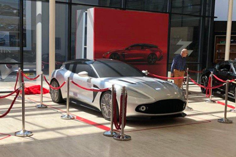 """Aston Martin Vanquish Zagato bản Shooting Brake """"siêu đẹp"""" lộ diện a2"""