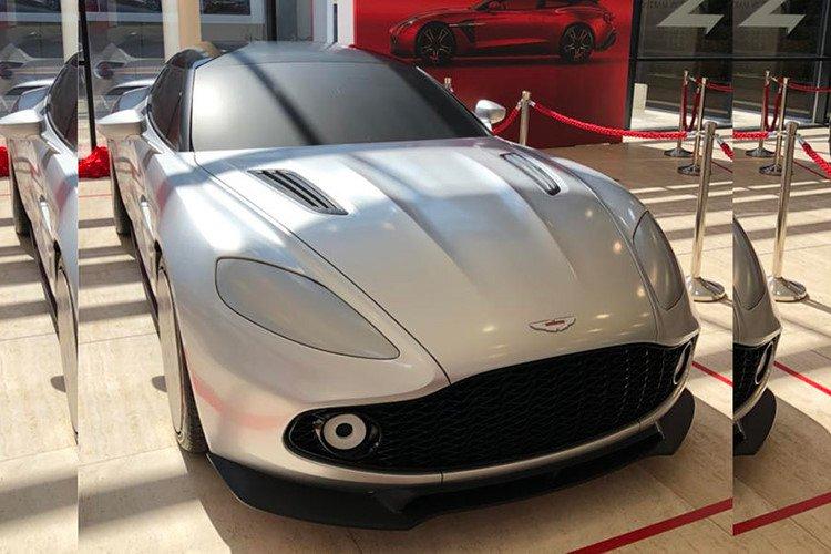 """Aston Martin Vanquish Zagato bản Shooting Brake """"siêu đẹp"""" lộ diện a1"""