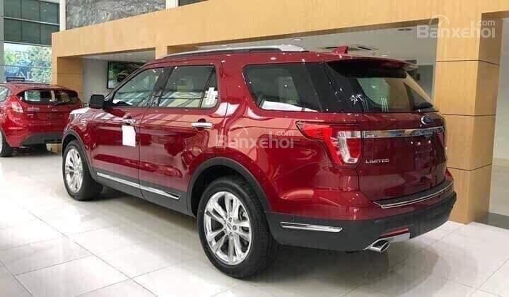 Cần bán xe Ford Explorer 2.3L Limited đời 2019, màu đỏ, nhập khẩu nguyên chiếc-5
