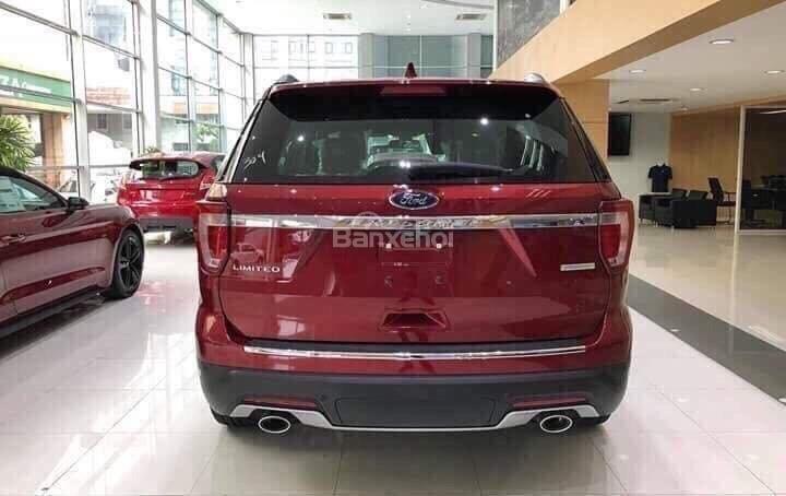 Cần bán xe Ford Explorer 2.3L Limited đời 2019, màu đỏ, nhập khẩu nguyên chiếc-6