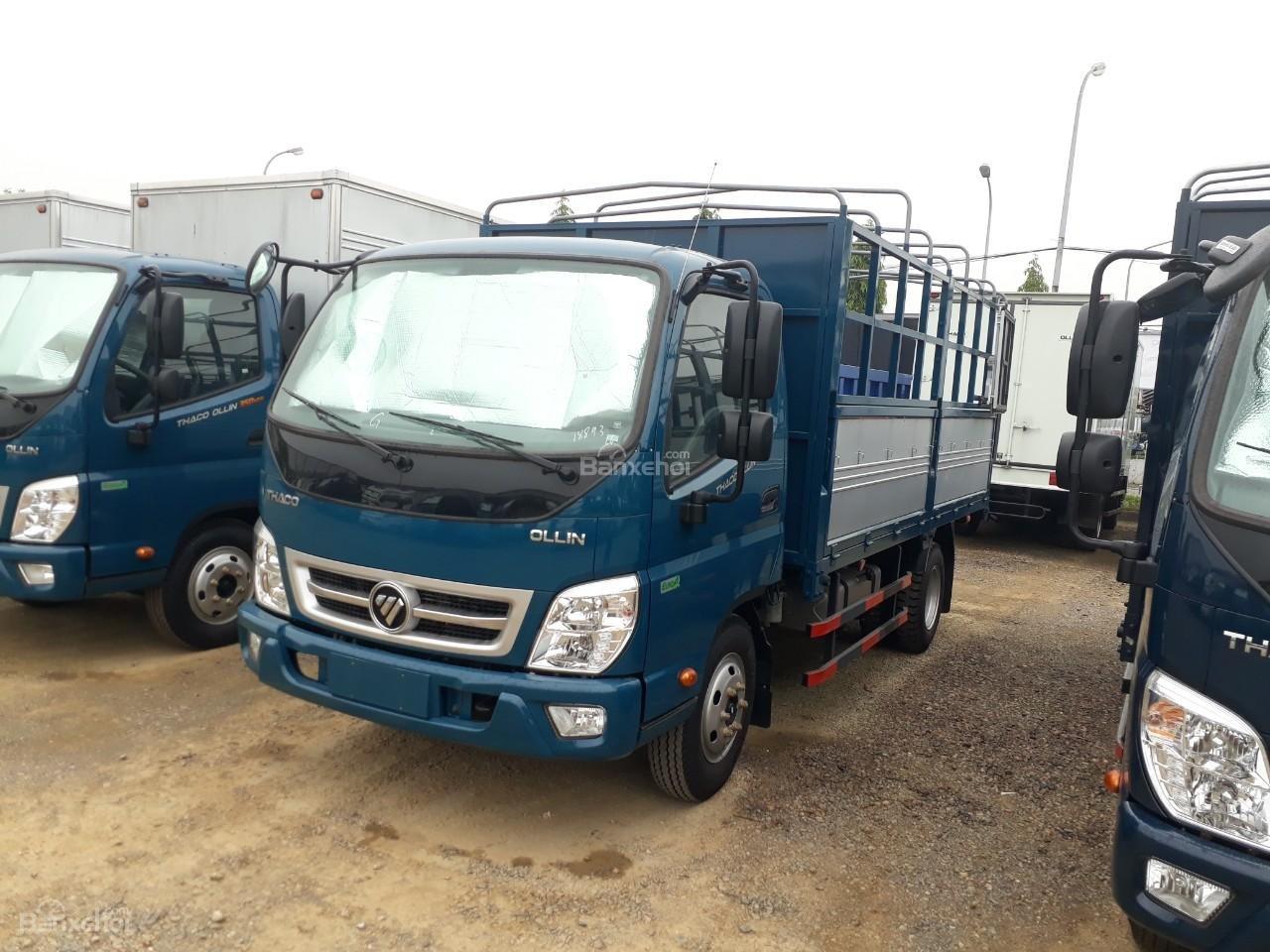 Bán xe tải Ollin500. E4 Trường Hải tải trọng 5 tấn ở Hà Nội-1