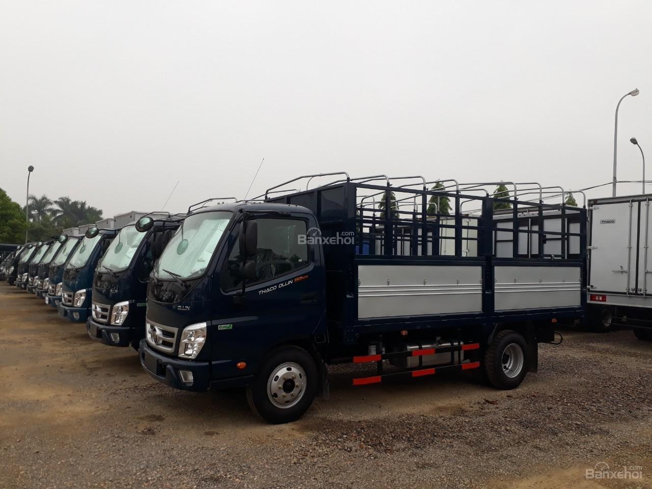 Bán xe tải Ollin500. E4 Trường Hải tải trọng 5 tấn ở Hà Nội-0