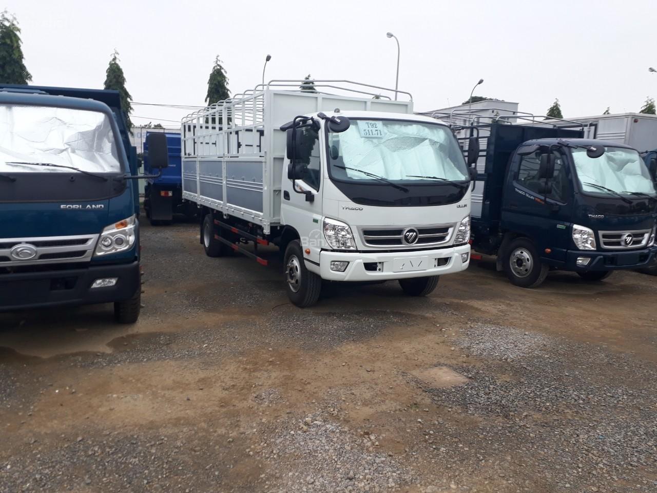 Bán xe tải Ollin500. E4 Trường Hải tải trọng 5 tấn ở Hà Nội-7