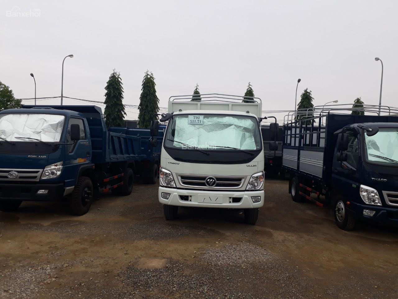 Bán xe tải Ollin500. E4 Trường Hải tải trọng 5 tấn ở Hà Nội-6