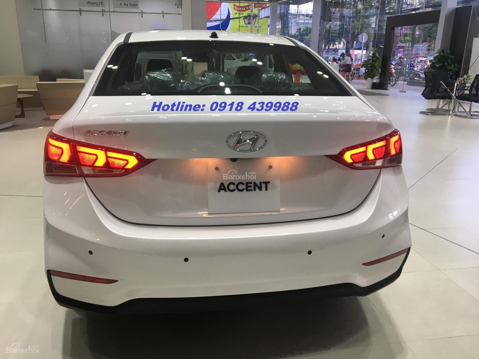Accent AT full, giao xe ngay, thanh toán 180t - LH: 0918439988-2