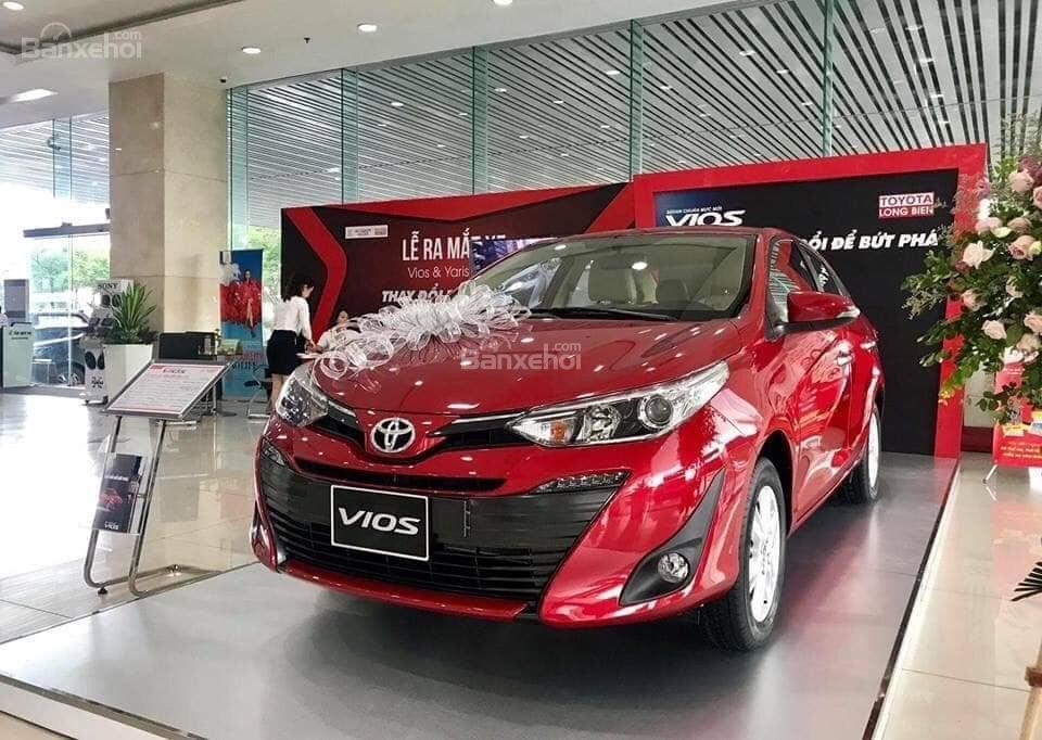 Bảng giá xe Toyota Vios 2019 niêm yết tháng 12/2018..
