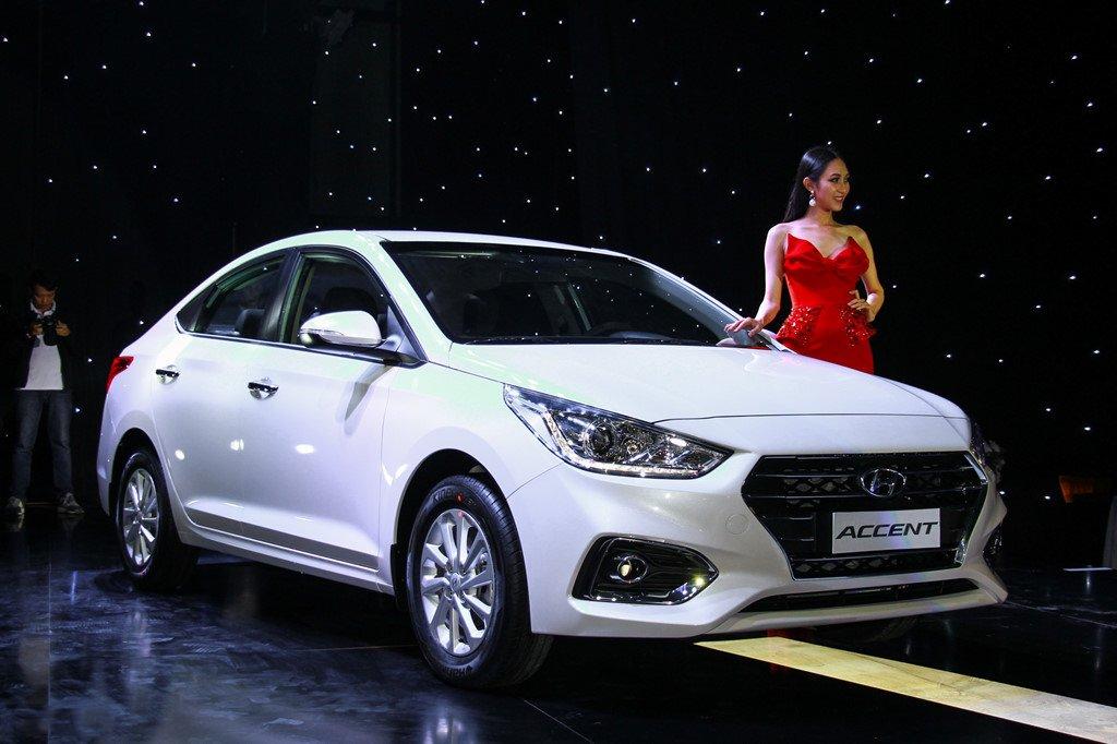 Tháng 11/2018, Hyundai Accent tiếp tục là xe bán chạy nhất của Hyundai Thành Công a1