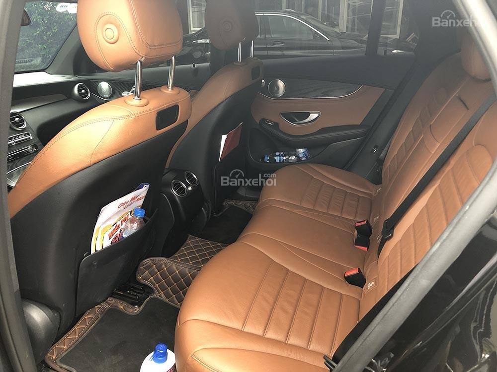 Bán xe GLC 300 cũ sản xuất 2018, màu đen, nội thất nâu xe cực đẹp như mới, giá rất rẻ (7)