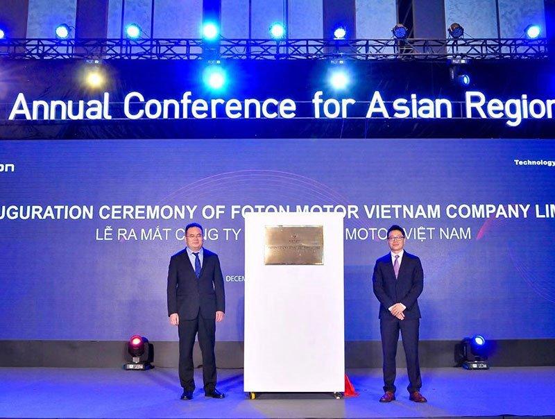 Hãng xe tải Foton Motor Trung Quốc áp dụng chiến lược mới tại Việt Nam a1