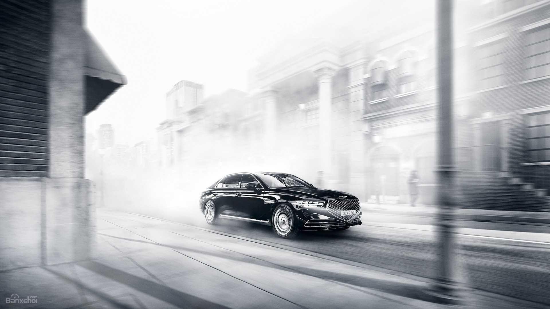 Đánh giá xe Genesis G90 2020 về trải nghiệm lái.