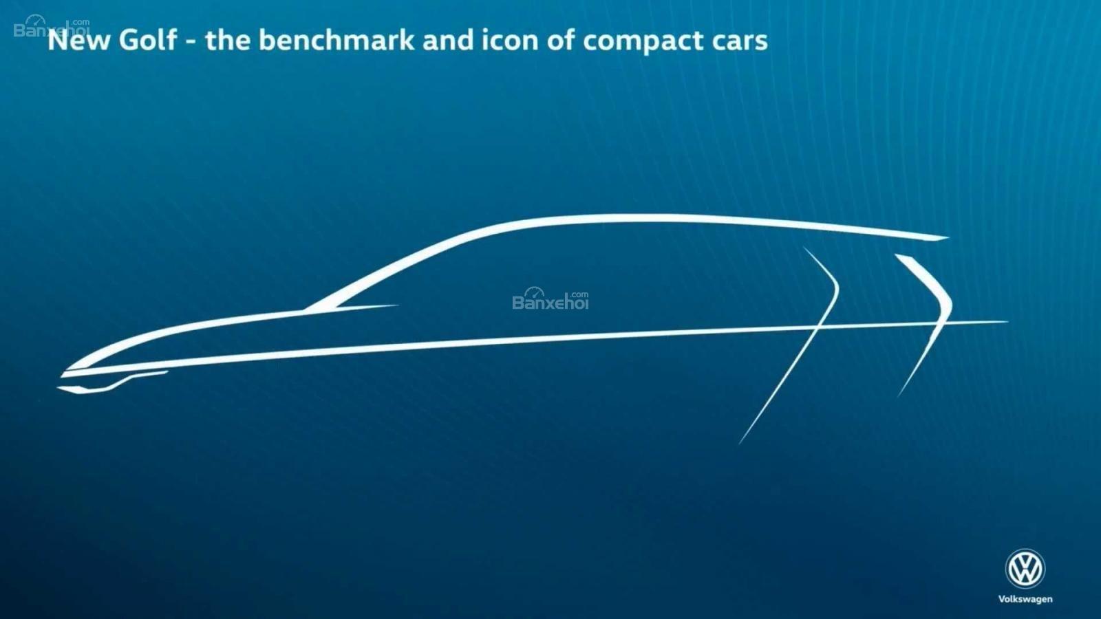 Volkswagen Golf 2020 tung bản vẽ nhá hàng - 1