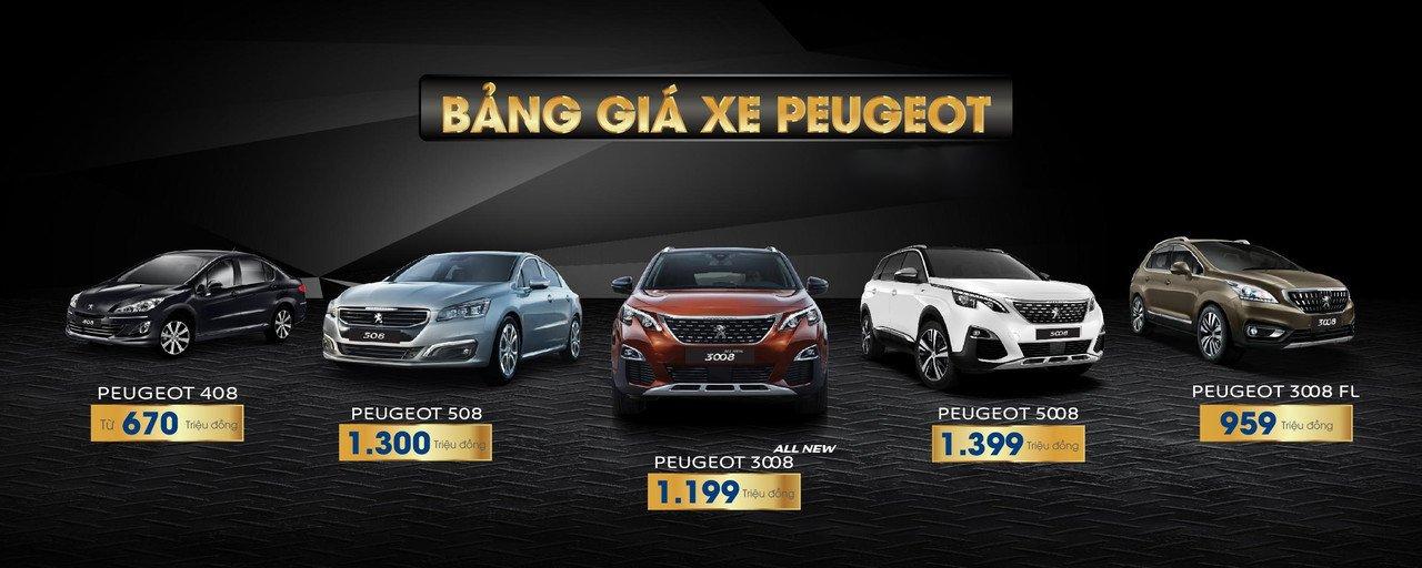 Peugeot Việt Nam khuyến mại tháng 12/2018, khách hàng có quà a2