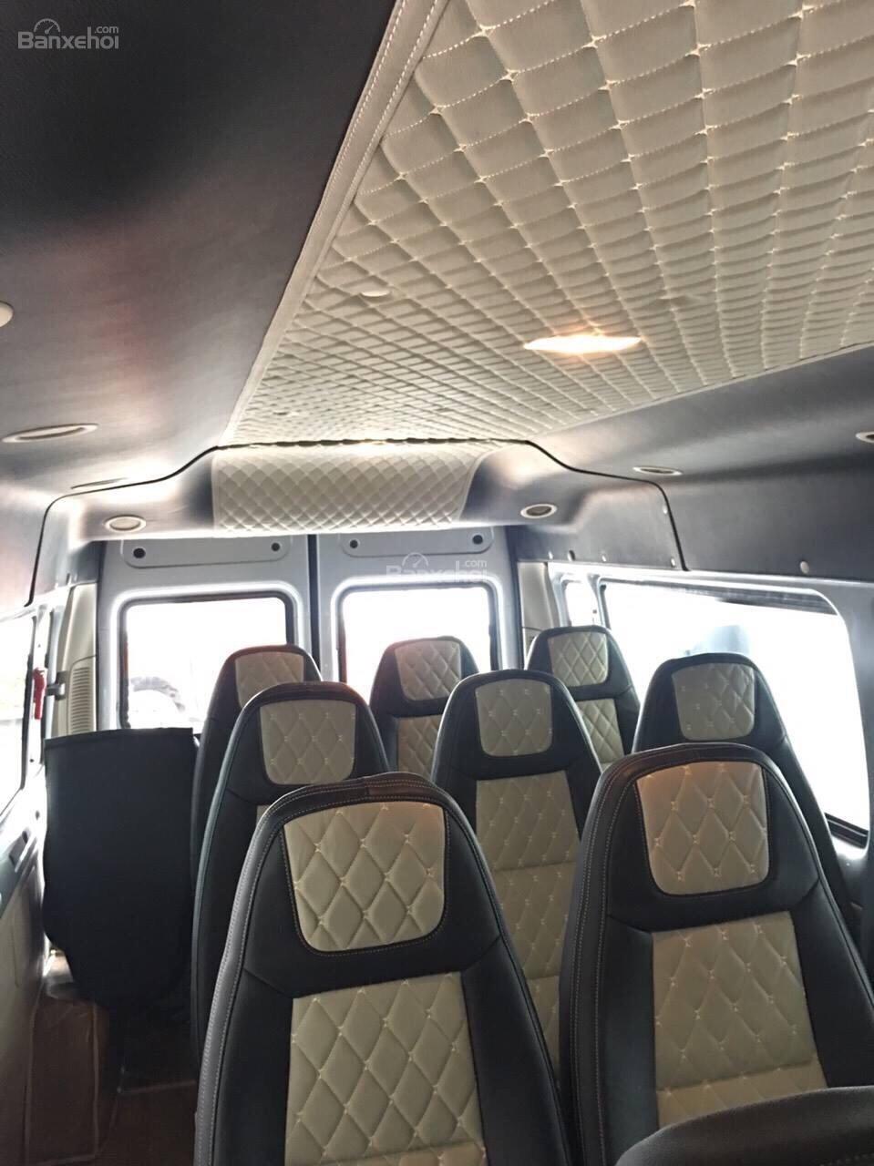 Bán Transit 2019, giao xe ngay hỗ trợ vay 5-7 năm 80-90% giá trị xe tặng ngay hộp đen - lót sàn giả gỗ - bọc trần-4
