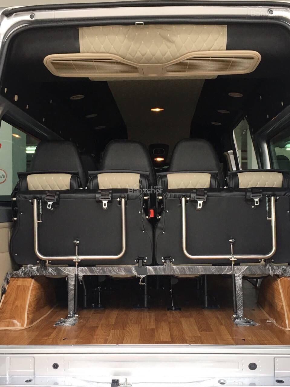 Bán Transit 2019, giao xe ngay hỗ trợ vay 5-7 năm 80-90% giá trị xe tặng ngay hộp đen - lót sàn giả gỗ - bọc trần-3