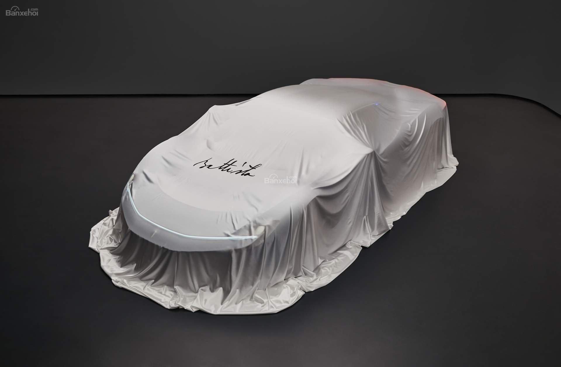 Hypercar của Pininfarina sẽ có tên Battista.