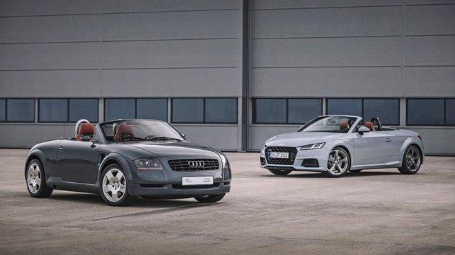 Audi TT tung bản kỷ niệm ''''''''20 Years Edition'''''''' chỉ 999 chiếc xuất xưởng, mở bán năm sau a2