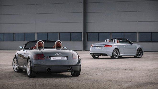 Audi TT tung bản kỷ niệm ''''''''20 Years Edition'''''''' chỉ 999 chiếc xuất xưởng, mở bán năm sau a3