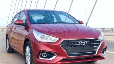 Hyundai Accent số sàn 2018, hỗ trợ trả góp lãi suất thấp, có xe sẵn giao ngay – LH 0774.702.378-0